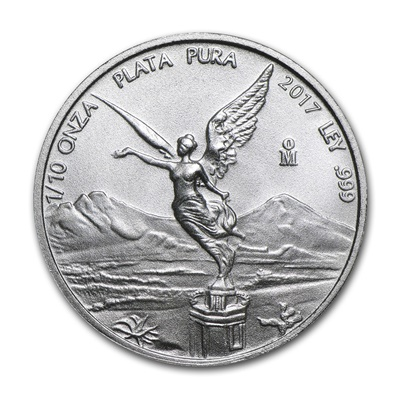 2017 1/10th oz Silver LIBERTAD